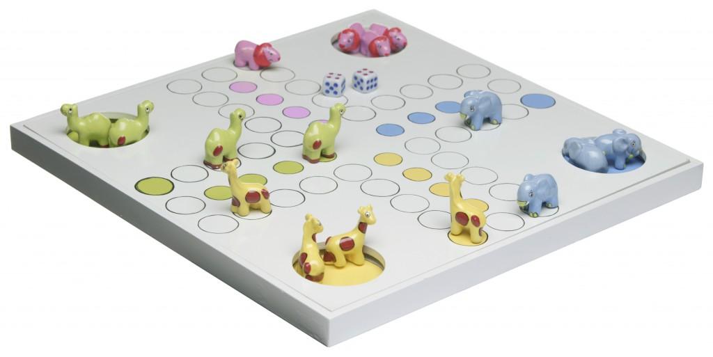 Children's Fia boardgame design for Mique of Sweden