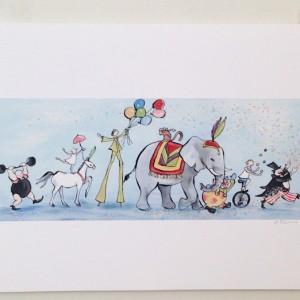 Circus-Parade-print