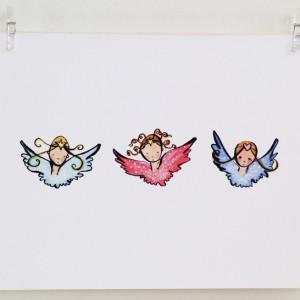 Mini Angels print