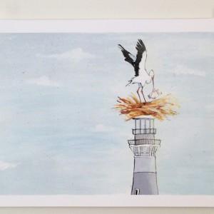 Stork-print